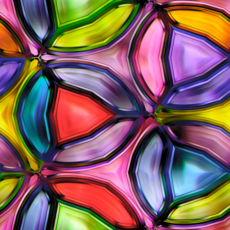 Seamless texture of abstract bright shiny colorful Stock Photo