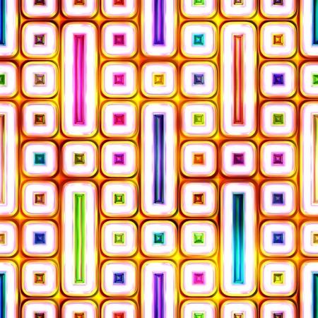 明るい抽象のシームレス テクスチャ光沢のあるカラフルな