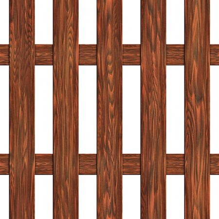 A fence made of boards seamless texture