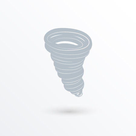 whirlwind: Tornado, vector icon