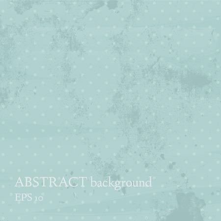 blotchy: Vintage background. Polka dot design.  Illustration