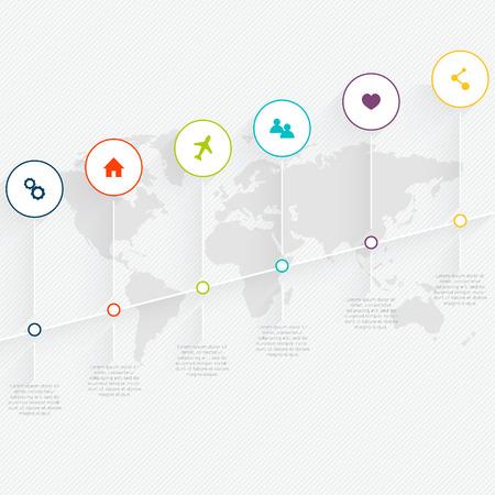 atlantic city: Map info graphic.