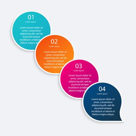 graficas: coloridos gráficos info para sus presentaciones.