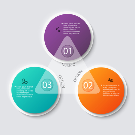 four: Vector colorful info graphics for your business presentations. Can be used for info graphics, graphic or website layout vector, numbered banners, diagram, horizontal cutout lines, web design.