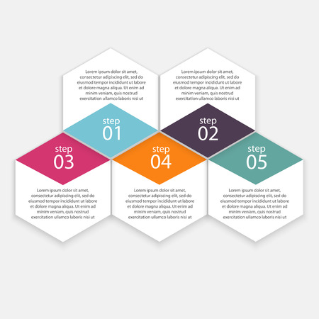 horizontal lines: Vector colorful info graphics for your business presentations. Can be used for info graphics, graphic or website layout vector, numbered banners, diagram, horizontal cutout lines, web design.