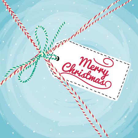 greeting christmas: Christmas Greeting Card. Vector typography.