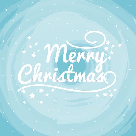 christmas greeting card: Christmas Greeting Card. Vector typography.