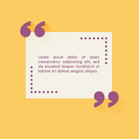 cotizacion: Citar plantilla en blanco. Los elementos de dise�o, plantilla c�rculo tarjeta de visita, la hoja de papel, de informaci�n, de texto. Cita plantilla para su dise�o.