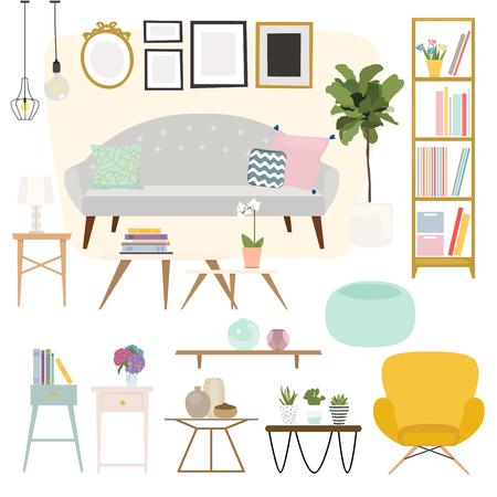 decoracion mesas: Sala. Muebles y Artículos para el Hogar, incluyendo sofás, sofá de dos plazas, sillones, mesa de café, mesitas y la decoración del hogar.