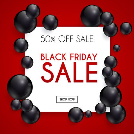 sale sticker: Black Friday. Sale. Can be used for website and mobile website banners, web design, posters, email and newsletter designs. Illustration