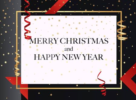 Merry Christmas.  Can be used for decoration, banners and card.