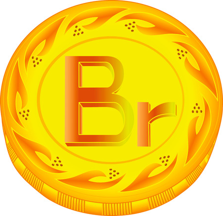 scrip: ruble, Belarus, coin, finances, gold, vector, business, symbol, shiny, currency, inflation, european, painting, trading, illustration, white, paying, objects, banking, buying, wealth, art, metal, relief, charity, icons, circle, money, investment, award, s