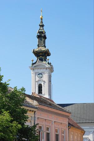 martyr: A cathedral church of great Martyr Saint George. Serbia, Novi Sad.