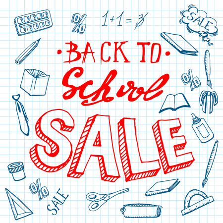 Back to school, shopping, discount