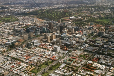 aerial adelaide city Stock Photo - 24202064