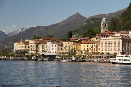 lake como: lake Como in italy