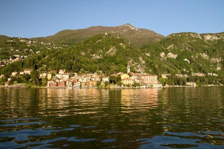 lake como: het Comomeer in Italië