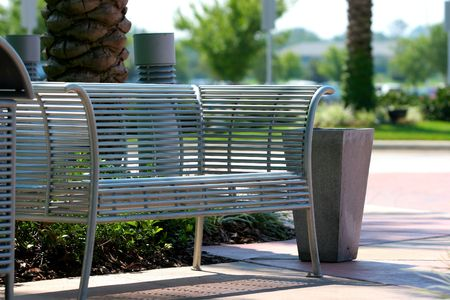 inviting: Inviting Park Bench