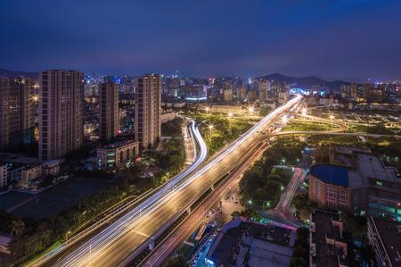 nightview: XiaMen,XianYue overpass night view