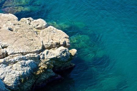 맑은 푸른 지중해