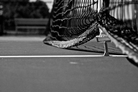 Tennis Court Close Up