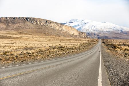 Beautiful scene in Ushuaia, Argentina, Patagonia Stock Photo