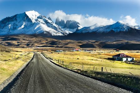 国立公園トレス デル パイネ、パタゴニア、チリ