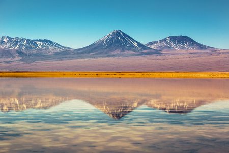 Beautiful scenery in the Atacama Desert, northern Chile, South America.