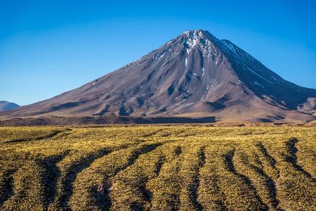 Amazing vulcano in the Atacama Desert, Chile