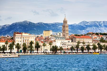 Beautiful city of Split in Croatia Stock Photo