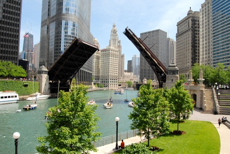 residential district: Downtown Chicago, Illinois