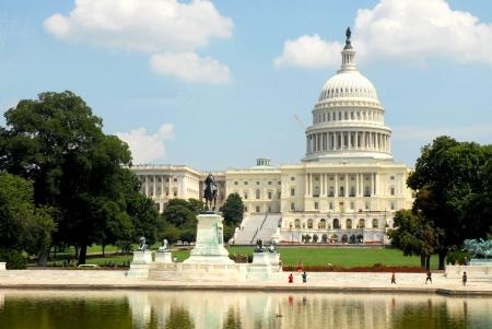 национальной достопримечательностью: Вашингтон Капитолий, США
