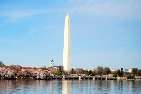 Washington DC Monument, USA Фото со стока