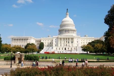 Washington DC Capitol, Etats-Unis Banque d'images