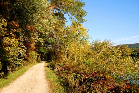 Trail in Harpers Ferry , West Virginia USA  photo