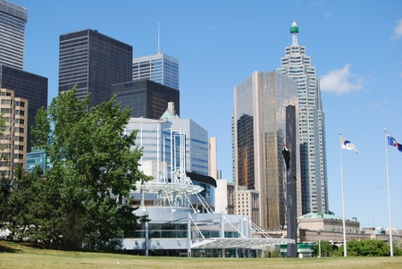 Downtown Toronto in Canada  photo