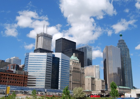 Downtown Toronto in Canada  Stock Photo