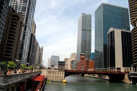 Downtown Chicago, Illinois USA  photo