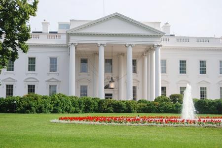 casa blanca: De la Casa Blanca en Washington DC, EE.UU. Foto de archivo