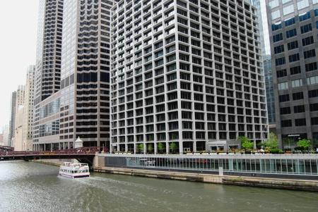 Downtown Chicago Waterfront, Illinois USA  photo