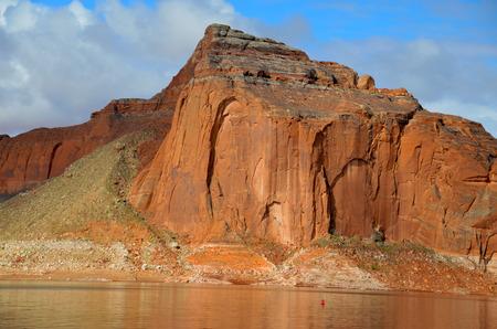 Lake Powell in Page, Arizona USA Stock Photo