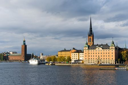 A view of Riddarholmen, centre of Stockholm, Sweden Stock Photo - 5990200
