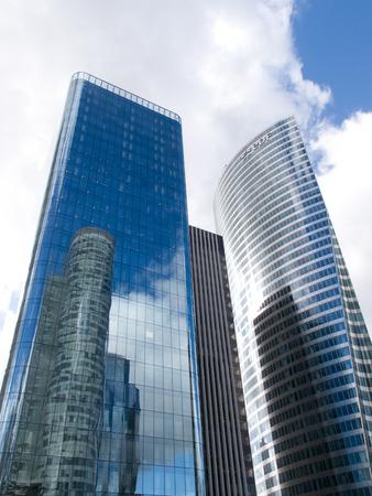 la defense: La Defense skyscrapers 8134, Paris, France, 2012