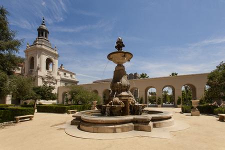 pasadena: PASADENA, USA - MAY 2015 Pasadena City Hall Courtyard Editorial