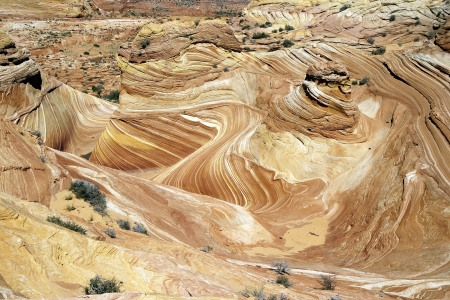 Landscape swirls in the Wave photo