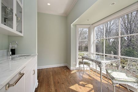 sitting area: Pantry in luxury home with sitting area