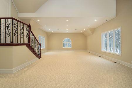 ini: Large bonus room ini new construction suburban home