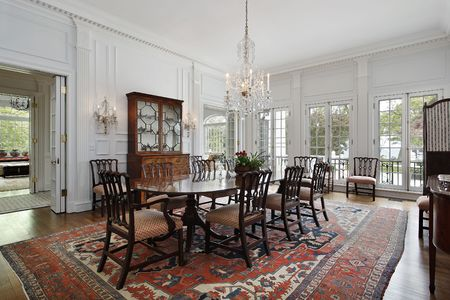 Traditional dining room photo