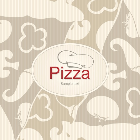 Cover design the menu for pizzeria Stock Vector - 10903952