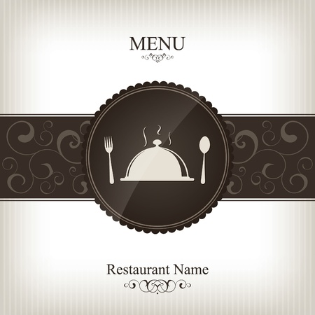 Vector. Restaurant menu design Stock Vector - 10940339